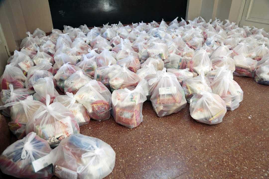 CONSEJO ESCOLAR: Durante marzo se entregaron 2180 módulos de alimentos a alumnos del distrito