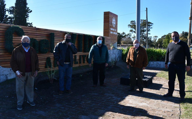 Paredi anunció que en junio inician obras en 119 viviendas en Coronel Vidal