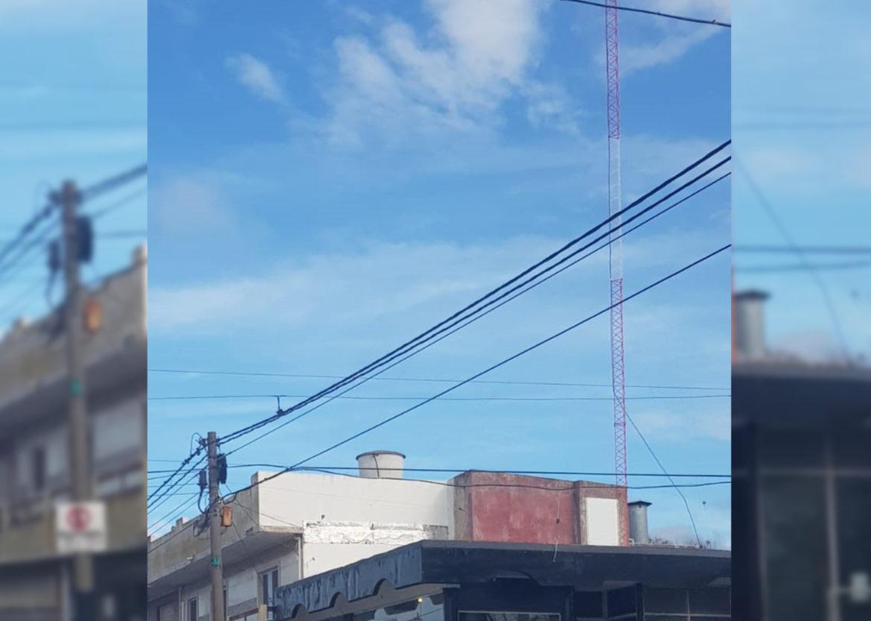 SANTA CLARA: Obras privadas clausuró una antena de comunicaciones