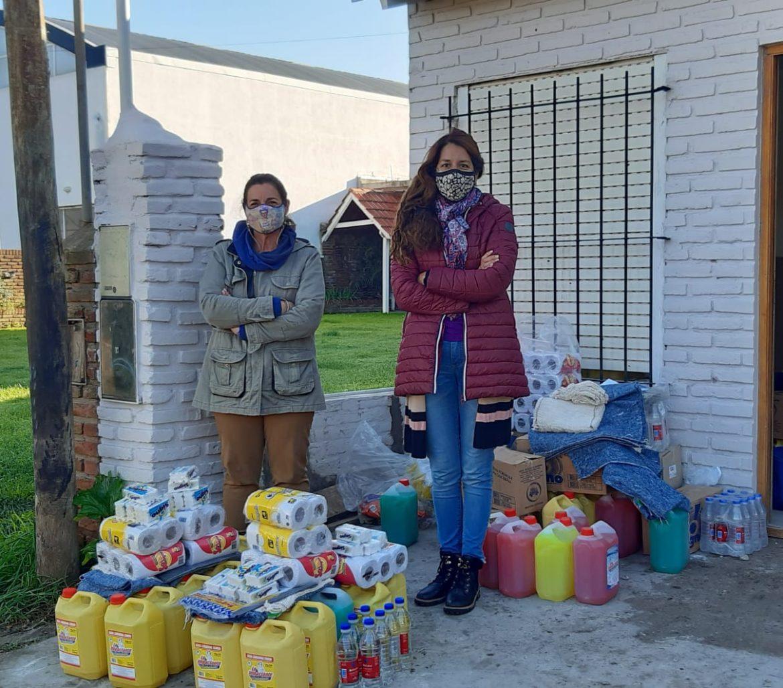 CONSEJO ESCOLAR: Se entregaron más kit de limpieza en las instituciones marchiquitenses