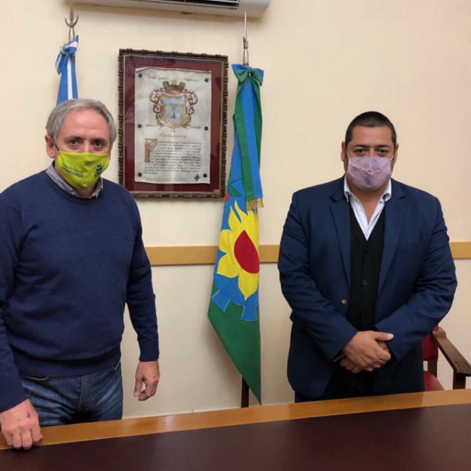 """Marcelo Sosa en Chascomús: """"La obra pública cuando está al servicio de la accesibilidad y la seguridad vial mejora la calidad de vida de los vecinos"""""""