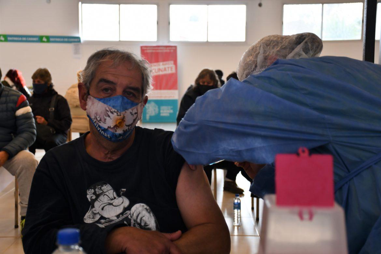 La mitad de los marchiquitenses tiene la primera dosis de la vacuna contra el COVID-19
