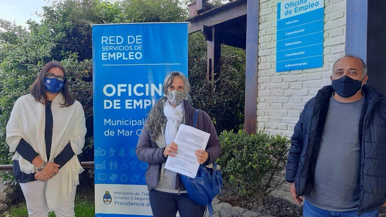 Programa PEI: se efectuó la firma del proyecto por 85 mil pesos para seis emprendedores del Partido de Mar Chiquita