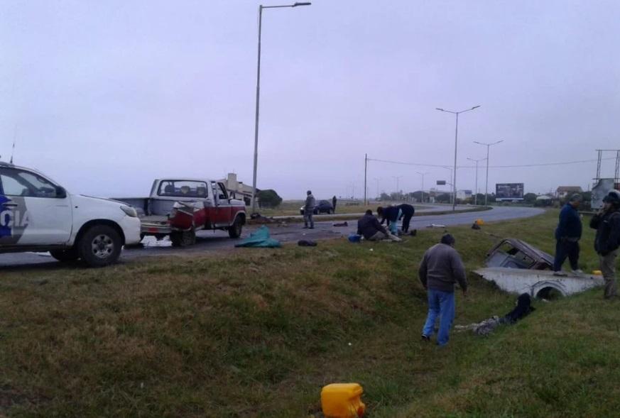 SANTA ELENA: Dos accidentes en el mismo lugar de la RP 11 con pocas horas de diferencia