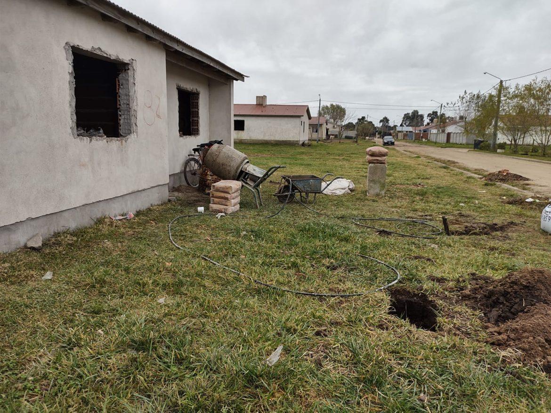 CORONEL VIDAL: Iniciaron las obras en las 100 viviendas del Plan Federal para su culminación
