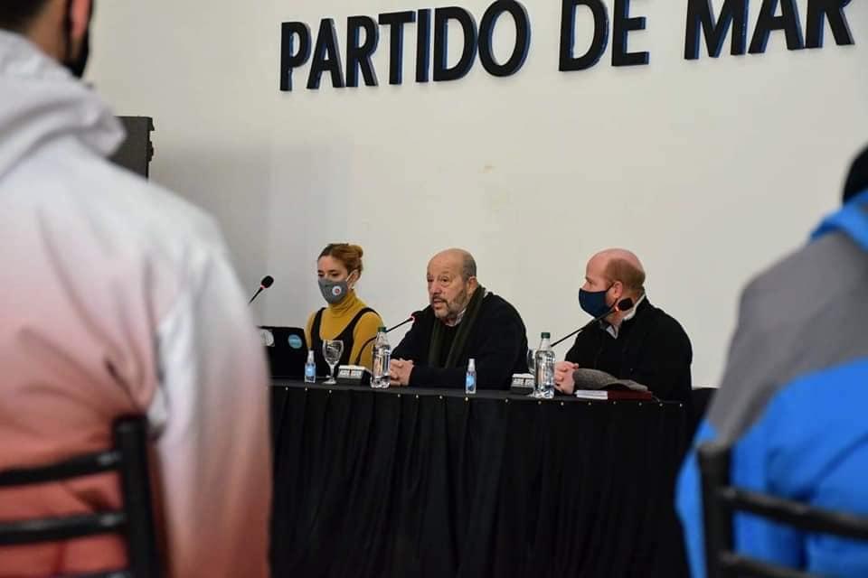 La ministra de Trabajo de la provincia de Buenos Aires, Mara Ruiz Malec, estuvo en Coronel Vidal
