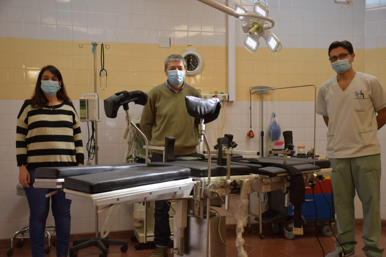 Municipios de Pie: nueva mesa de cirugía eléctrica para el Hospital Municipal