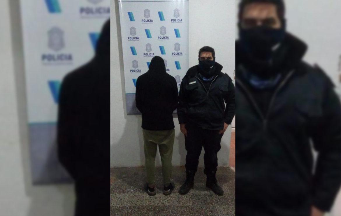 VIVORATÁ: Demoraron a un joven que había robado cable trifásico de un taller mecánico