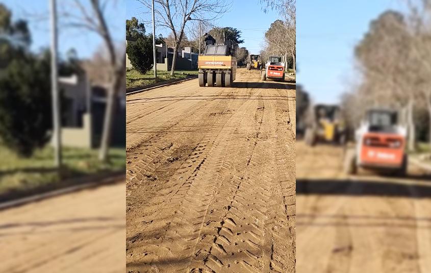 Después de muchos años, la Avenida Pueyrredón de Coronel Vidal será reparada