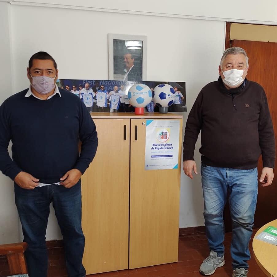 Marcelo Sosa se reunió con Contardo para charlar de proyectos y obras para la costa de Mar Chiquita